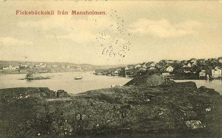 Fiskebäckskil från Mansholmen.