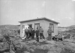 Lindholmen, öster om Kornöarna oktober 1907.
