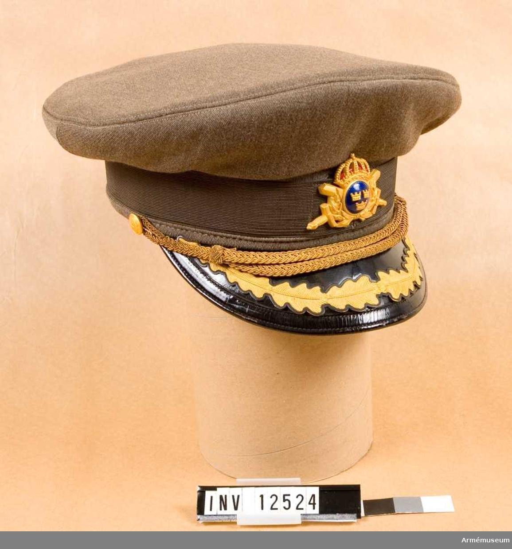 Grupp  C I. Mössa m/1952 för general.