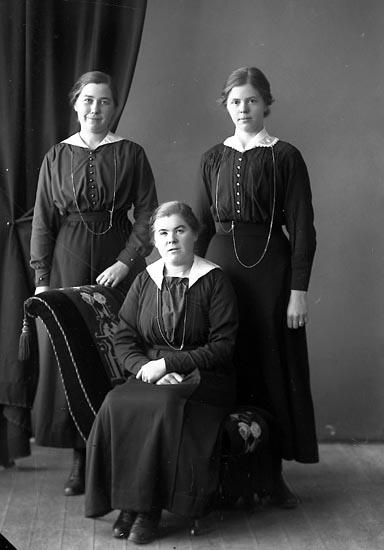 """Enligt fotografens journal nr 4 1918-1922: """"Norberg, Fr. Linnéa Ödsmål""""."""