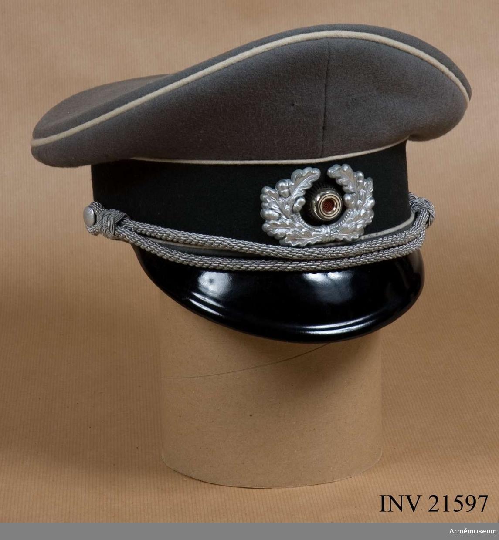 Grupp C I. Tyska Wehrmacht omkring 1940. Emblemet saknas /GK.