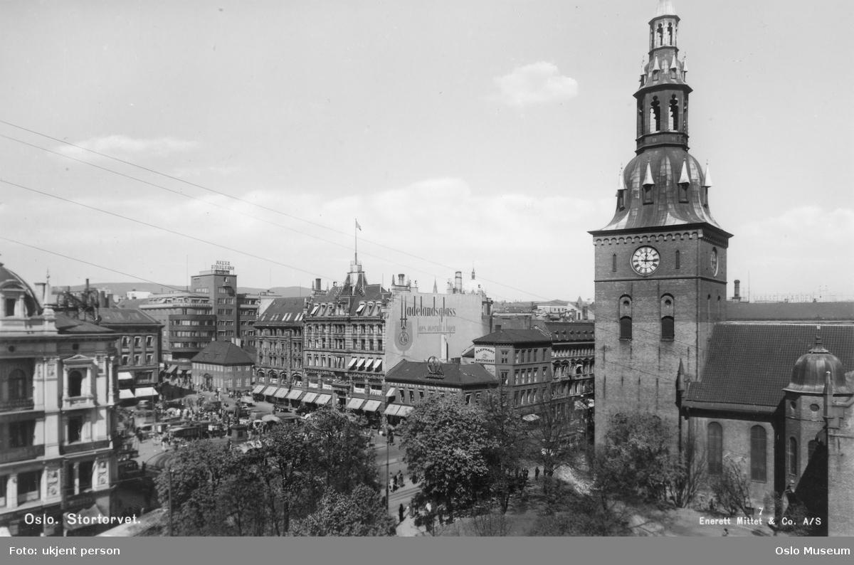 utsikt, torg, forretningsgårder, Vår Frelsers kirke