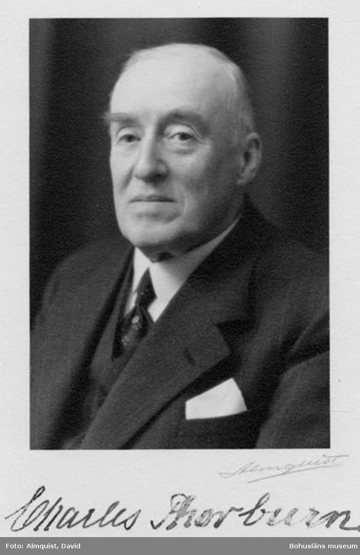 """Charles Thorburn (1873-1949), grundare av rederiet """"Bohuslänska kusten"""" år 1906"""