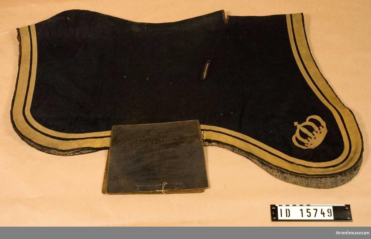 Grupp K I.   Ingår i sadelmundering 1815-1869 för officers-, underofficers-  och manskapshäst.