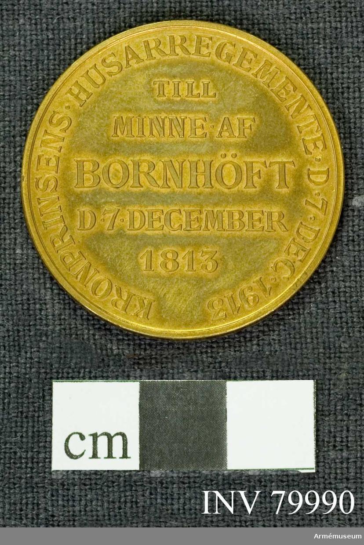 Grupp: M. Kronprinsens husarregementes 100-års fest till minne av segern över danskarna vid Bornhöft 7/12 1813.
