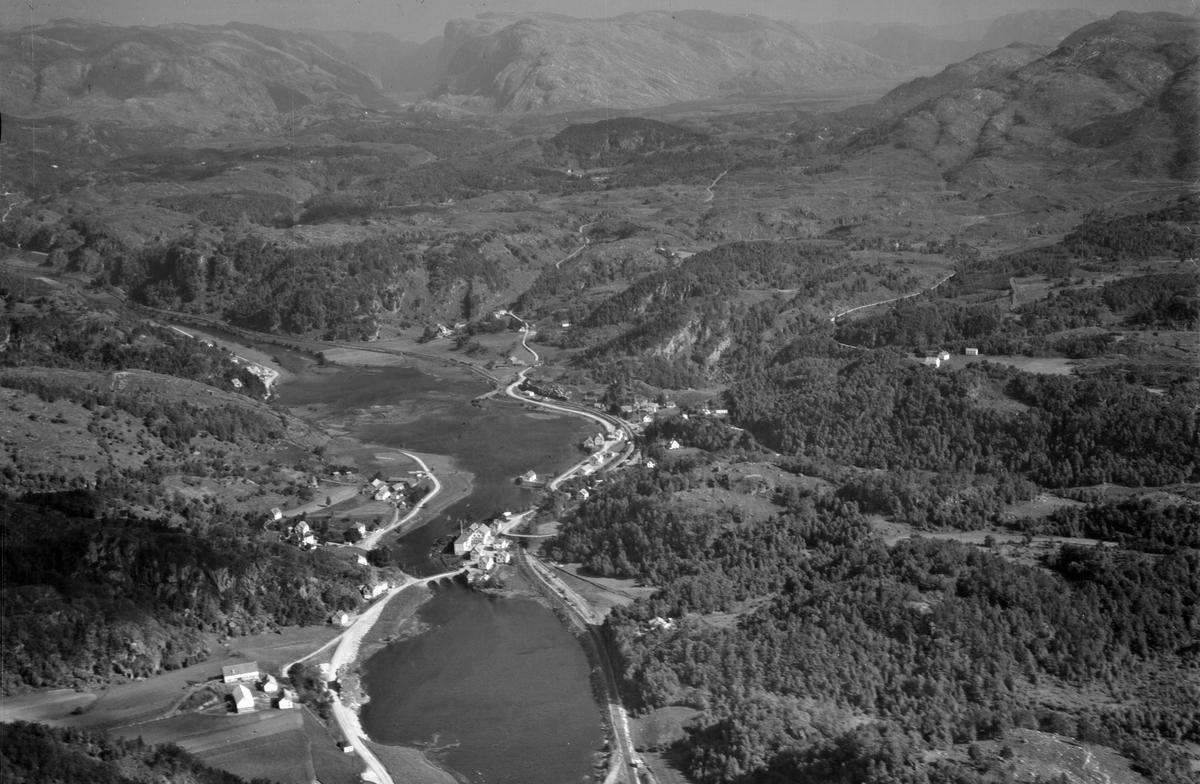 Helleland, Svalestad, Ramsland, Hogstad