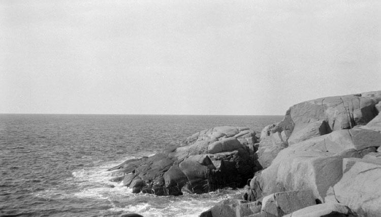 Enligt senare noteringar: Soteskär, yttersidan mot norr. 24 Augusti 1922.