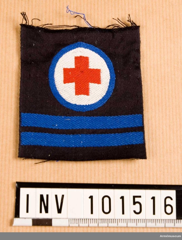 Gradbeteckning: Sjukvårdare, värnpliktig, korpral, marinen.