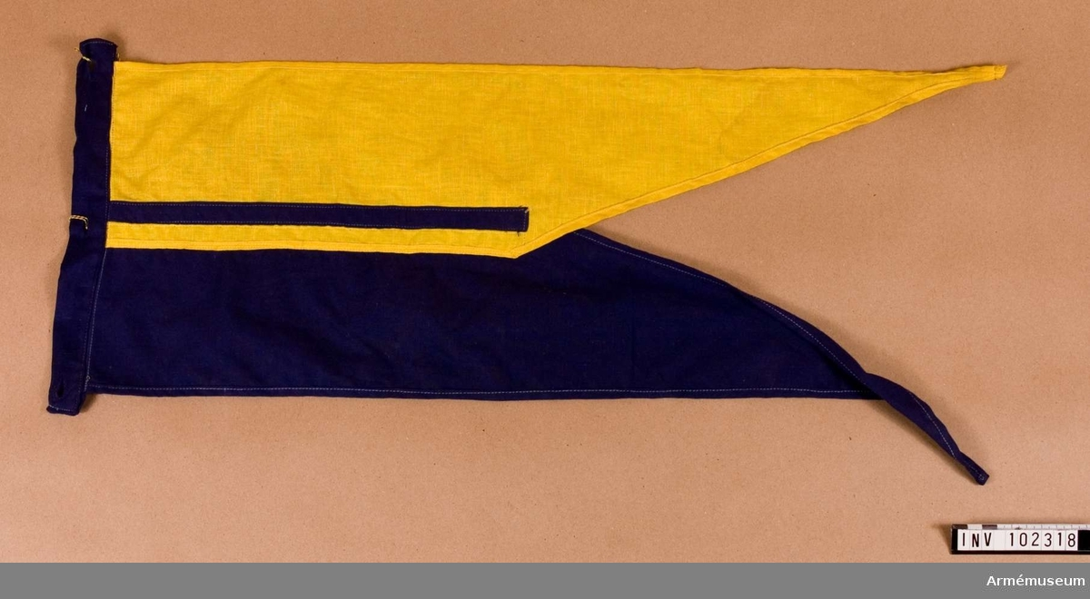 Lansflagga m/1869