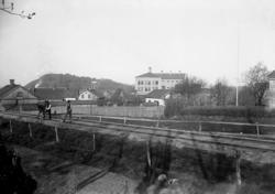 No 84. Cellfängelset, Uddevalla. 20 Maj 1902.  Plåten tagen