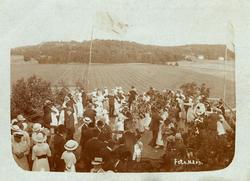 Parkfesten å Allmag 1917