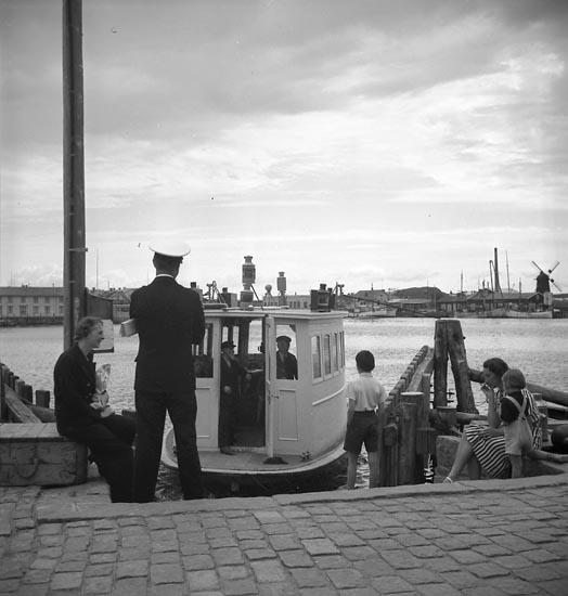 Hamnfärjan I, Marstrand.