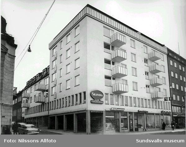 Scandia försäkringsbolag. Storgatan 31.