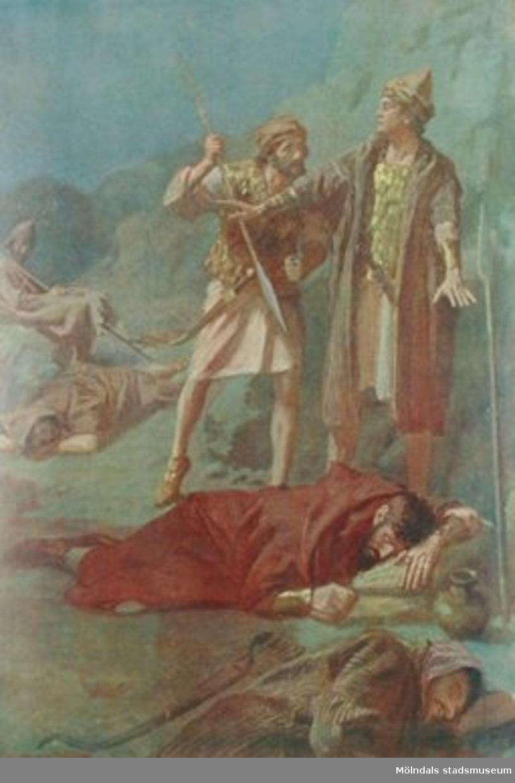 Kristendomskunskap:David räddar Saul
