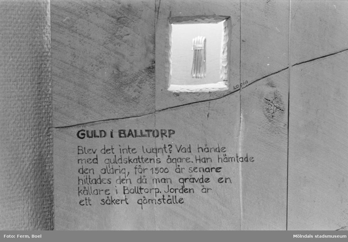 Mölndals museums basutställningar: järnålder.