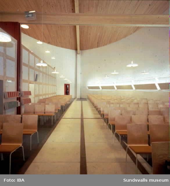 Nacksta kyrka interiör, Sunsvall