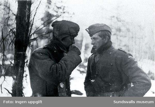 Från en vintermanöver 1944.