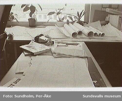 Dokumentation av aluminiumsmältverket GA Metall AB, Sundsvall. Samtidig dokumentation med Tekniska museet, Stockholm.