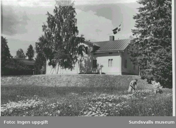Anundgård. Friluftsgården Österström. Vykort