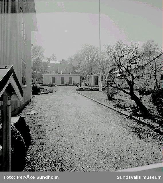 """Uthus och """"friggebod"""", kv. Almen 4, Nygatan 15."""