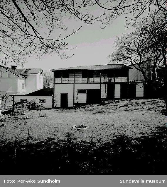 Flerbostadshus och uthus, kv. Almen 1, Nygatan 21:05 Flerbostadshus09 Uthus