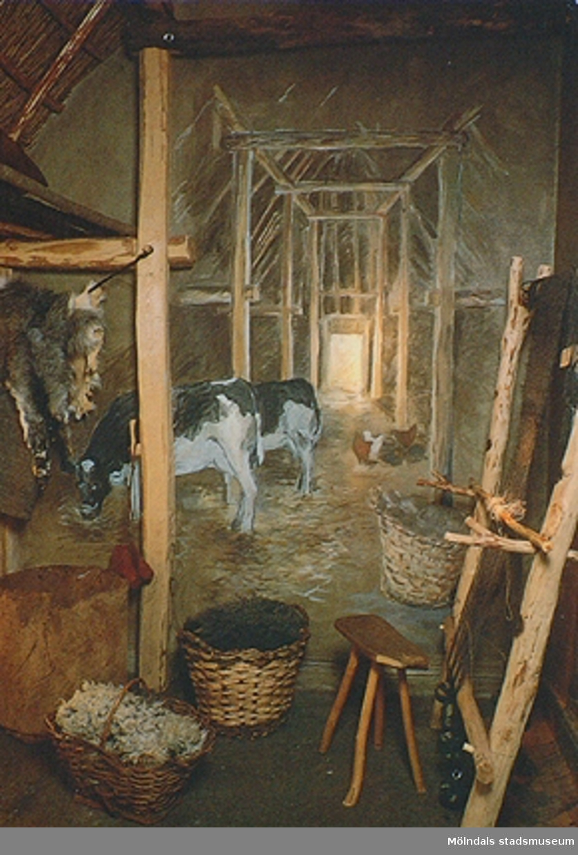 Den var en del av Mölndals museums basutställning t.o.m år 2001.