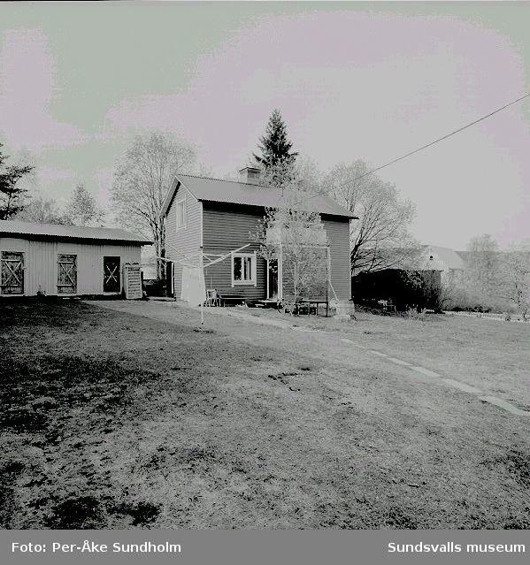 Uthus och bostadshus, gårdshus, kv. Pilen 5, Stengränd 4:02 Uthus03 Gårdshus