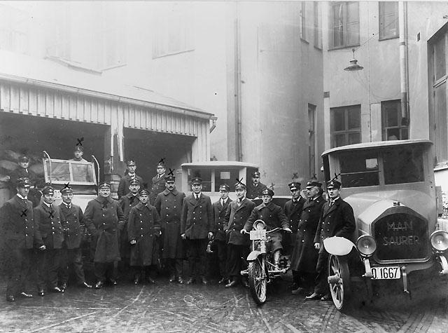 Göteborg 1, gården. Troligen 1920-talet