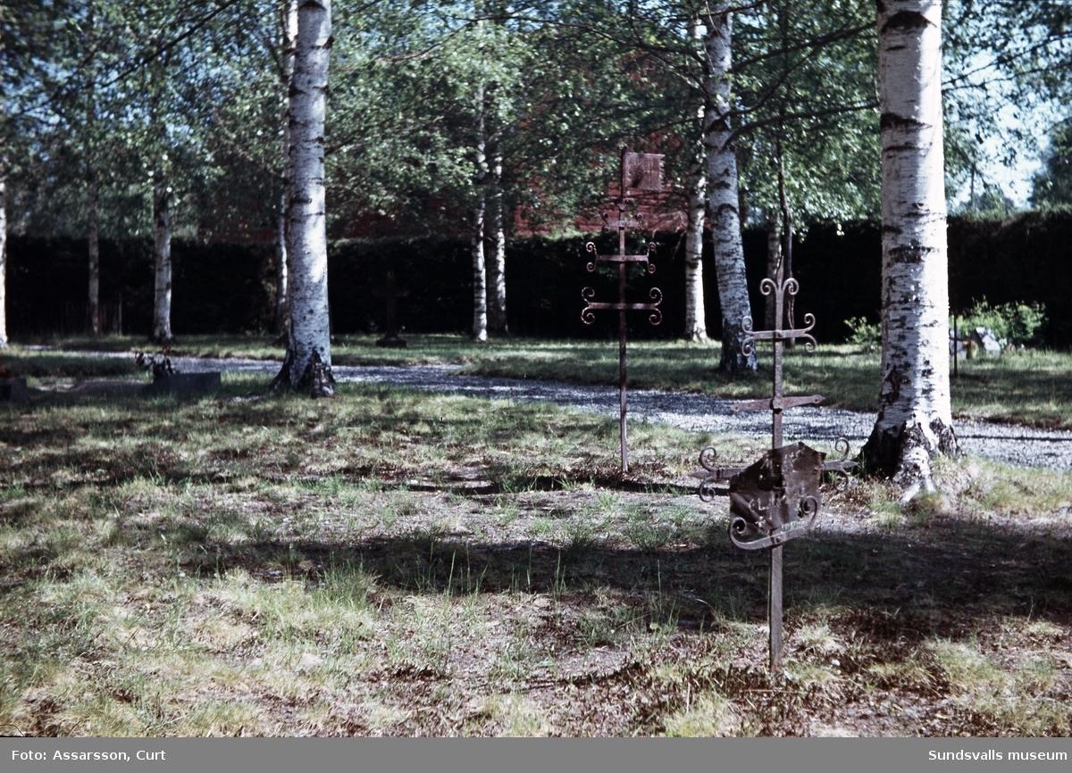 Smedsgravar i Lögdö.