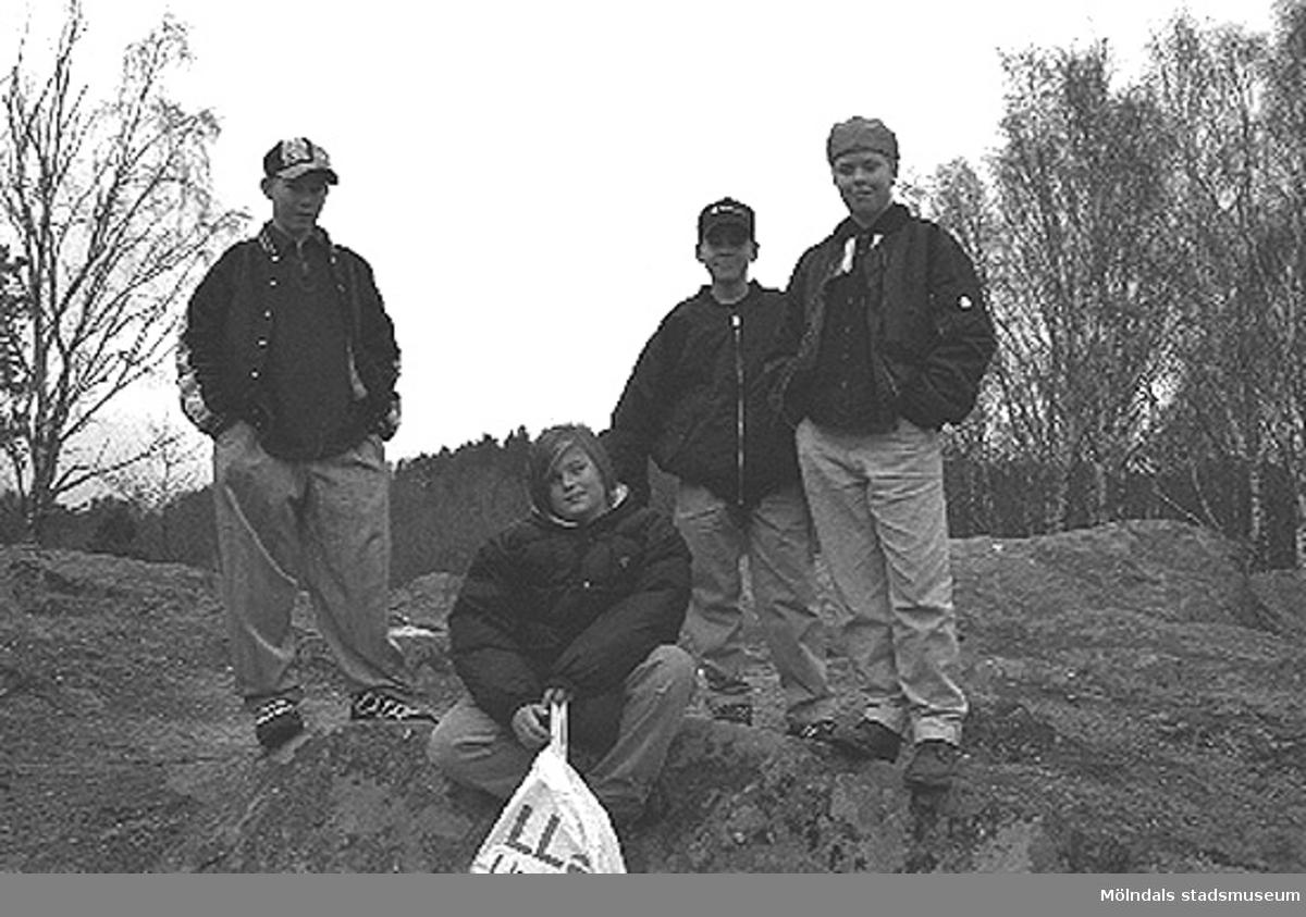 Killar i Balltorp 1996-03-18.