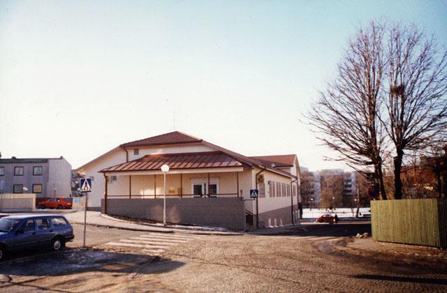 Postkontoret 453 00 Lysekil Polisgatan 2, 1986.