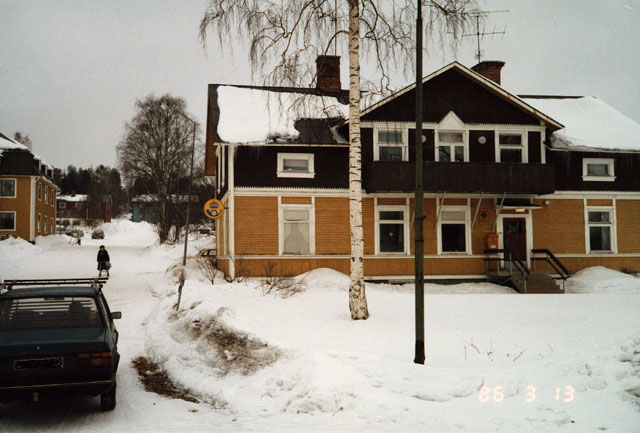 Postkontoret 890 54 Trehörningsjö