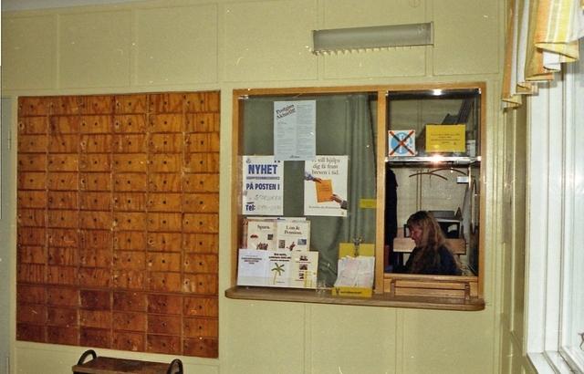 Indrogs den 1/9 1990 och hade då fungerat som lantbrevbäringspostställe från den 1/6 1970 till den 31/12 1985. Ortsadressen blev Morgongåva efter poststationens indragning den 1/7 1970. Lokalen har dock varit densamma. Postkassör och lantbrevbärare är Berit Johansson, normalt placerad i Morgongåva.