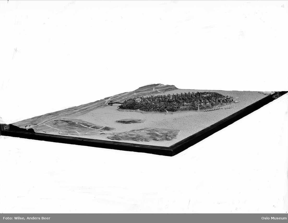 ulvøya kart Plastisk kart over Ulvøya.   Oslo Museum / DigitaltMuseum ulvøya kart