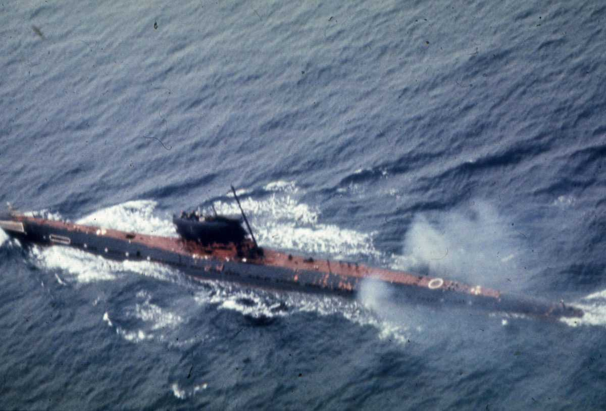 Russisk ubåt av Foxtrot - klassen.