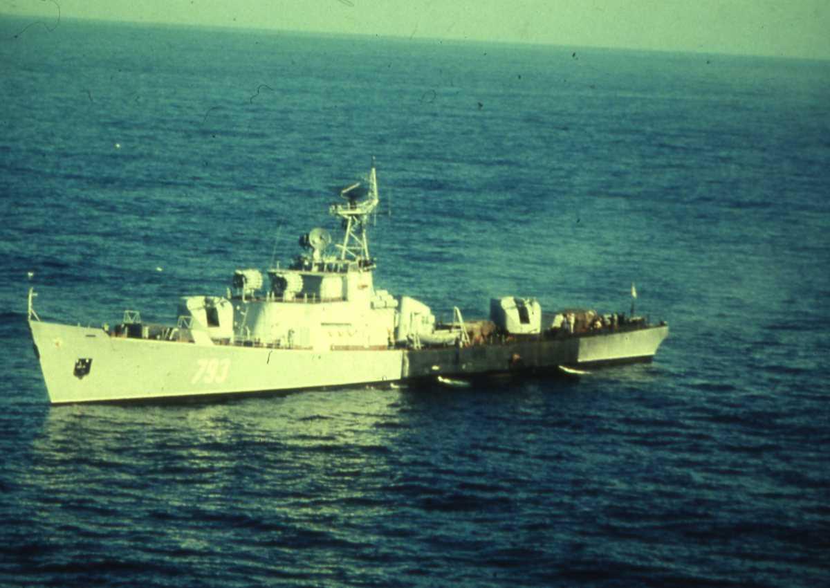 Russisk fartøy av Petya II - klassen med nr. 793.