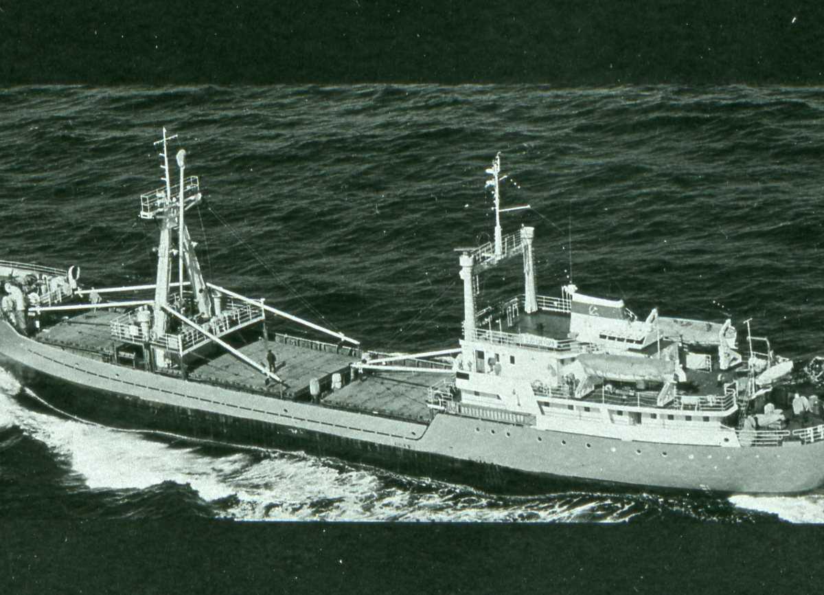 Russisk fartøy av Modifisert Keyla - klassen.