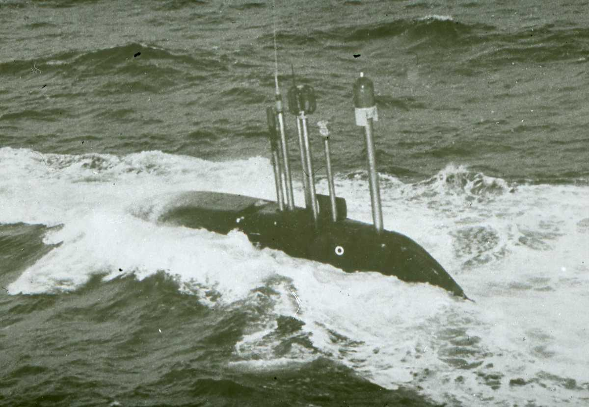 Russisk ubåt av Charlie - klassen.