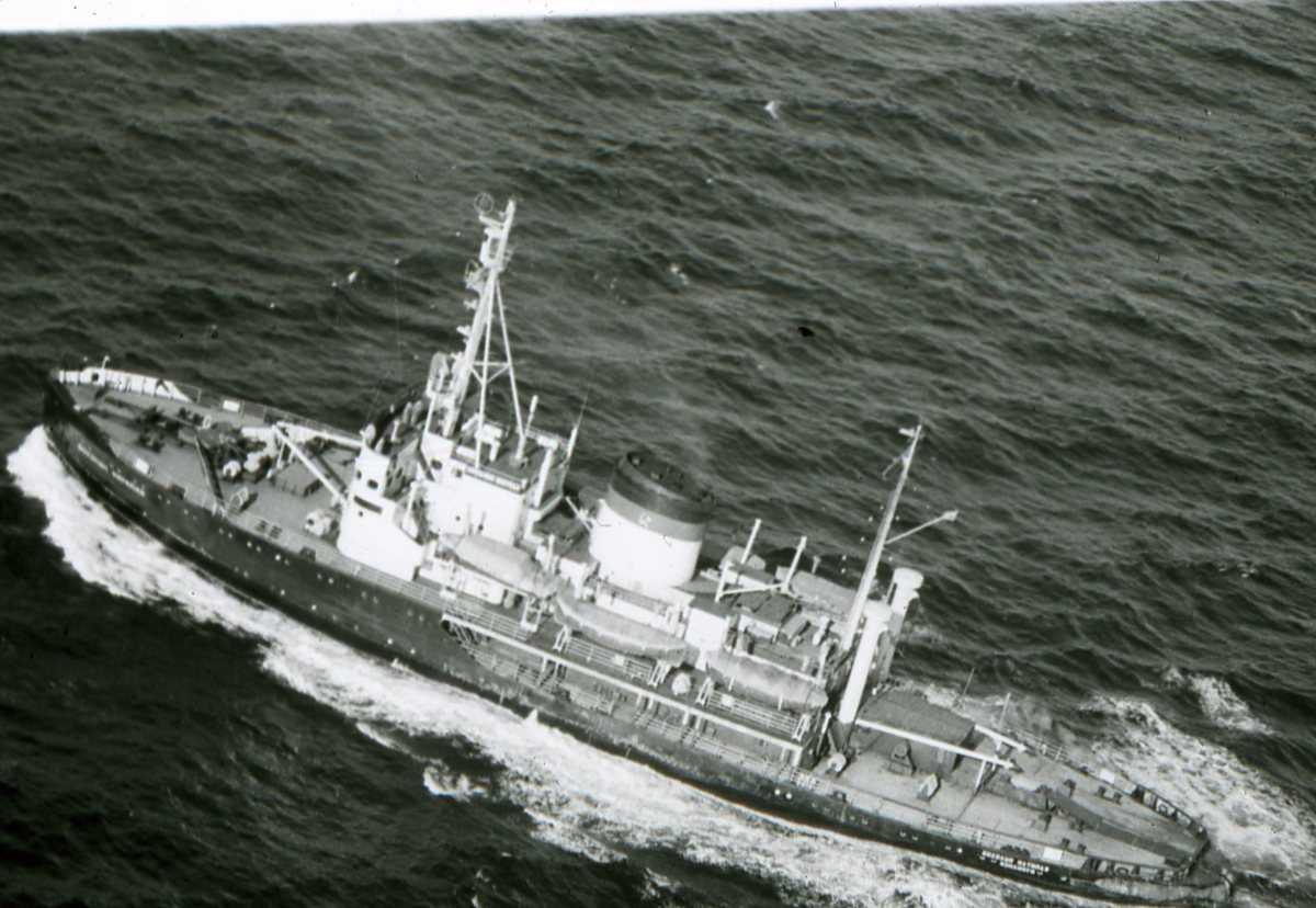 Russisk fartøy av Kapitan - klassen.