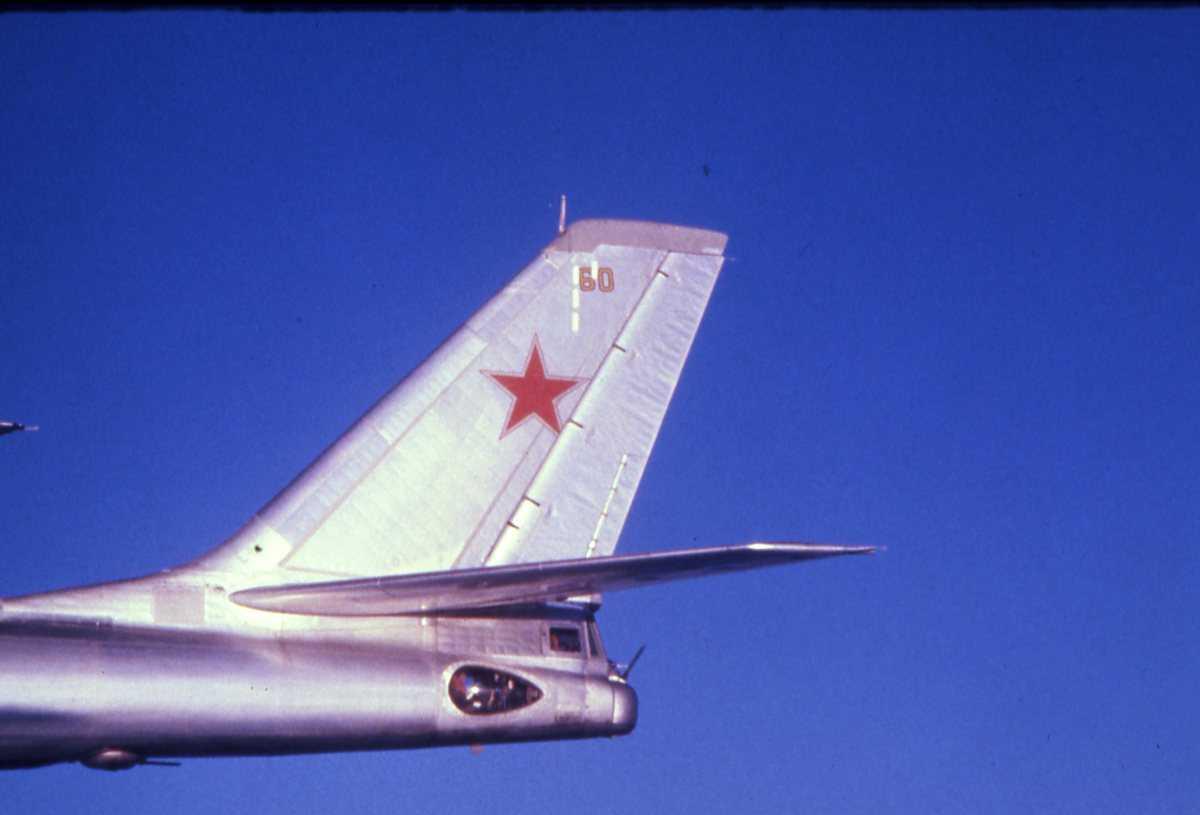Russisk fly av typen Bear B med nr. 60.