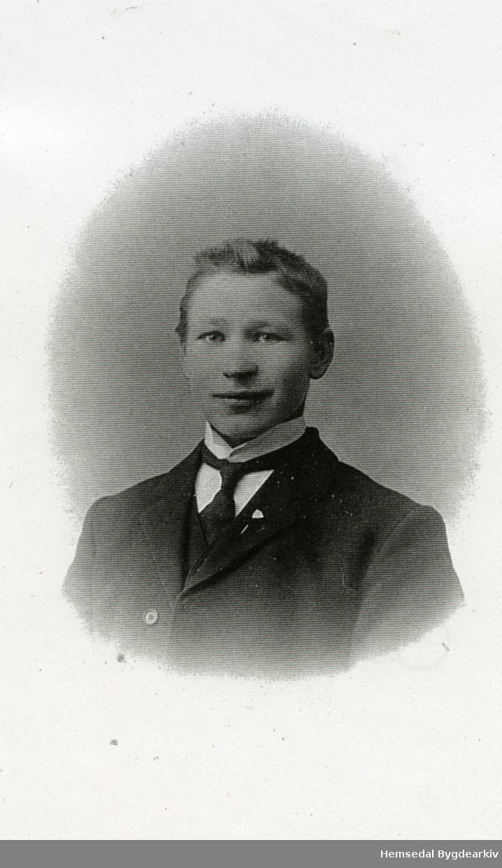 Endre Skolt (1890-1923) frå Hemsedal