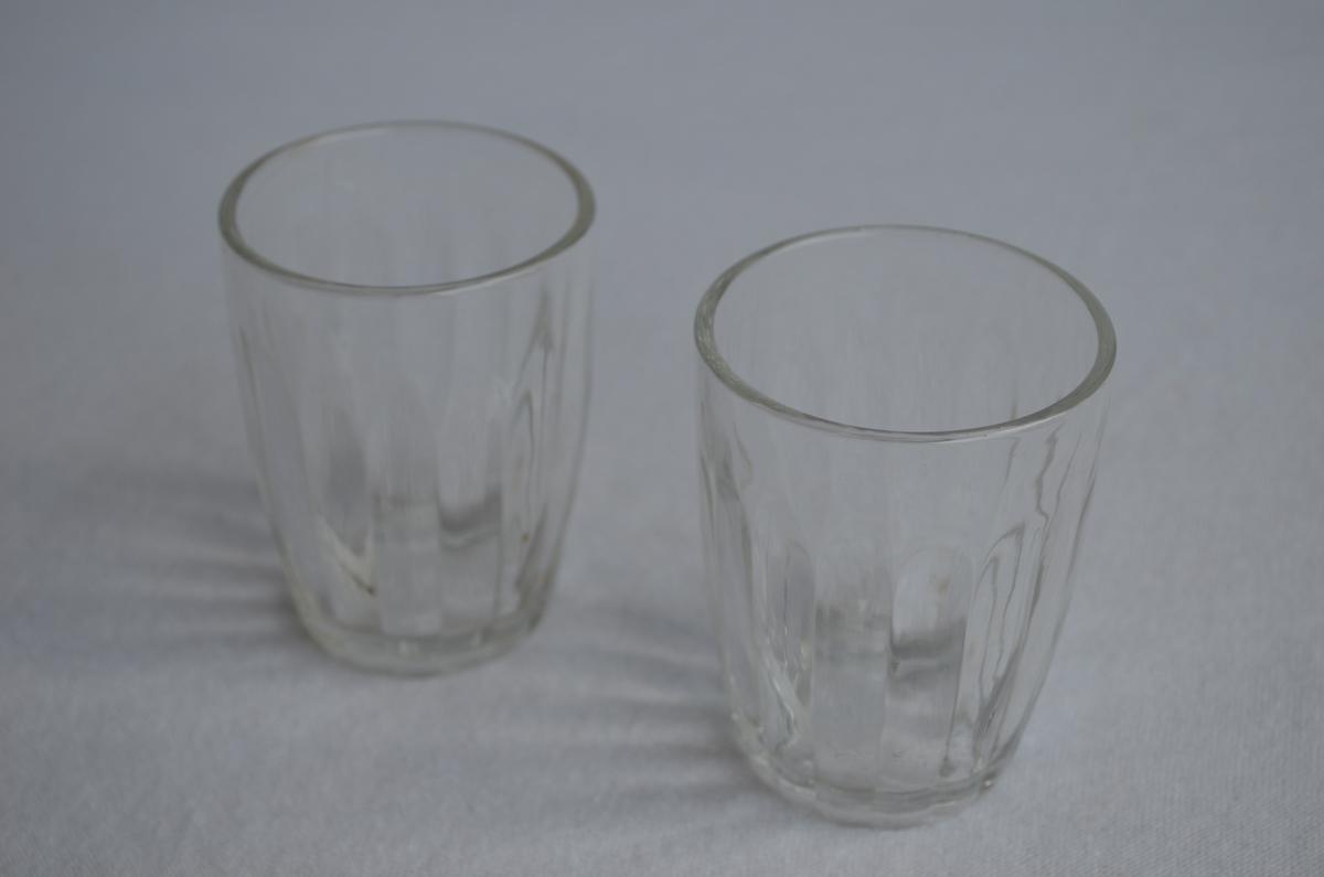 Drikkeglass, 2 stk