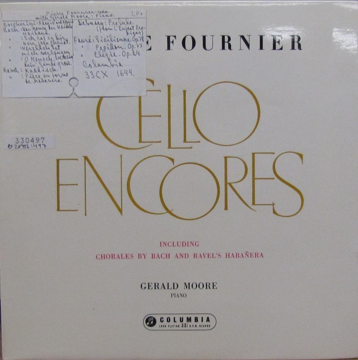 LP-skiva av märket Columbia