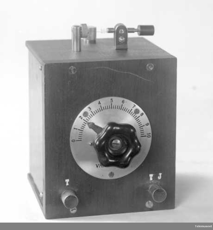 Krystallapparat, radiomottaker Elektrisk Bureau.