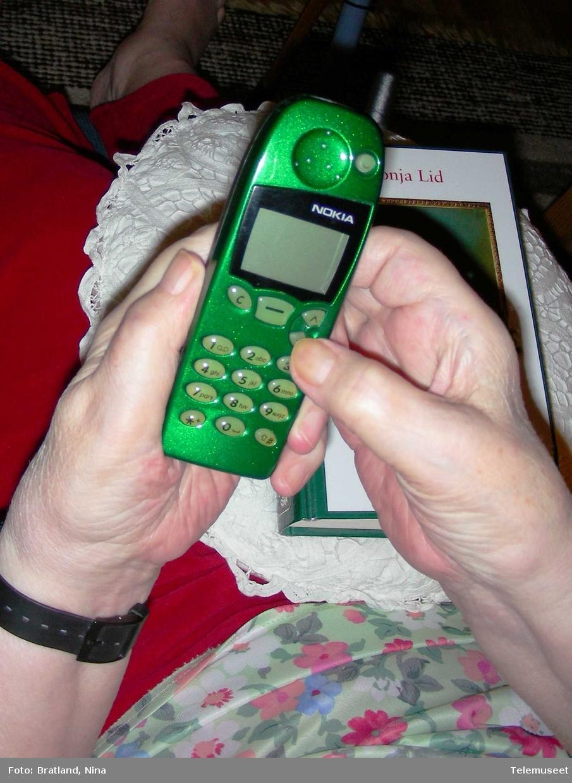 Mobiltelefon Nokia eldre telefonbruker