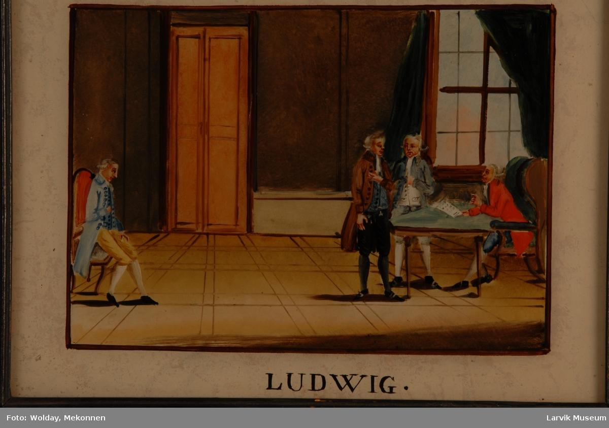 fra den franske revolusjon. tekst: Ludwig
