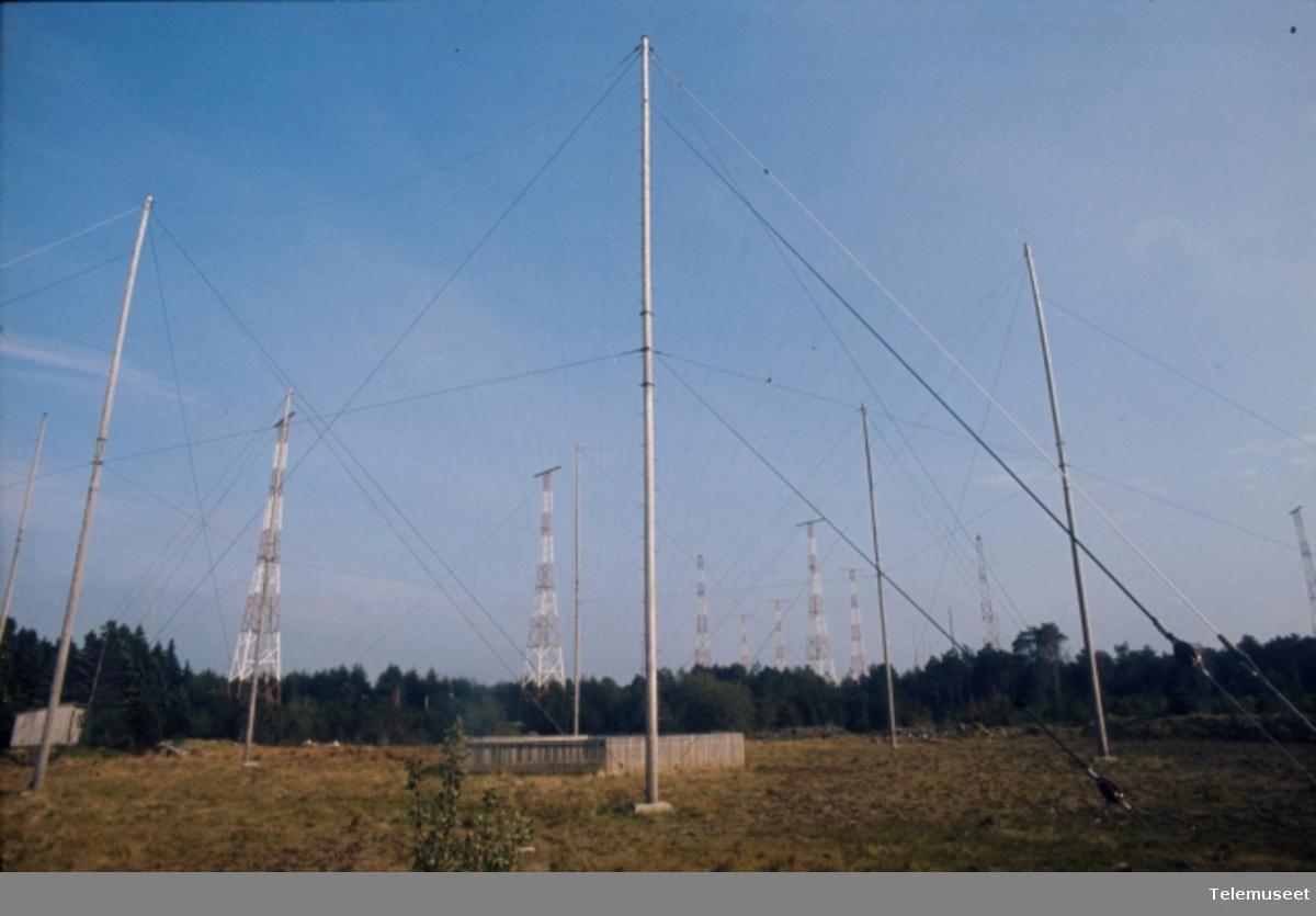 Kystradiostasjoner  antenner