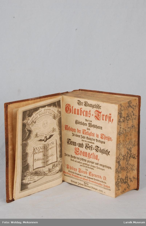 Form: frontispisblide: G.P. Busch