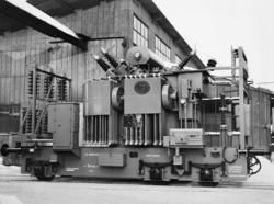 Trefasetransformatorvogn for transportabel omformer