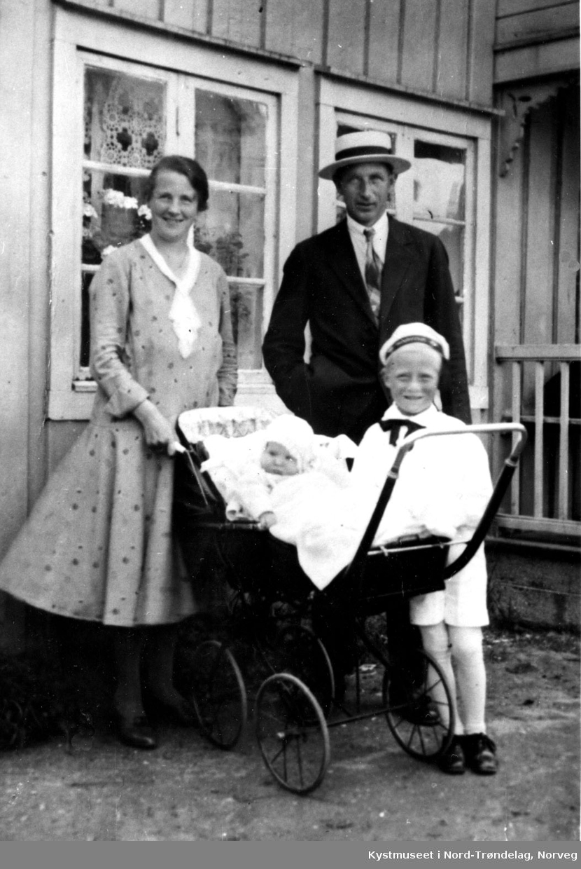 Mimmi Andersen Haugland, Evald, Trond og Brit Haugland